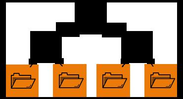 Parcours et impact d'un e-mail avec pièce jointe sur le stockage